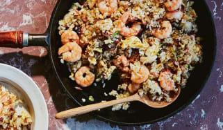 Karikari okoge no yakimeshi (fried rice with crispy bits) recipe from Your Home Izakaya by Tim Anderson
