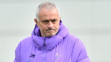 Tottenham Hotspur head coach Jose Mourinho