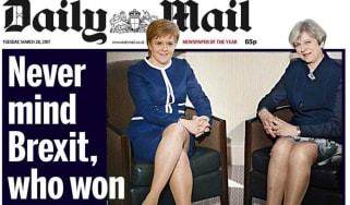 DAILY MAIL LEGS-IT FRONT PAGE