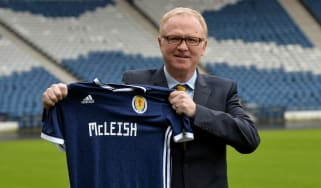 Alex McLeish Scotland manager SFA fan reaction