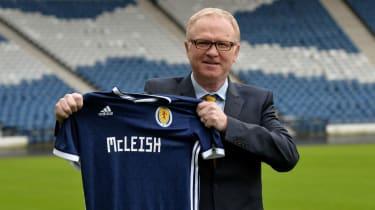 Alex McLeish Scotland manager SFA fan reaction