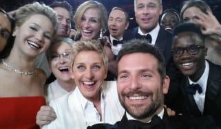 Ellen DeGeneres 2014 Oscars selfie
