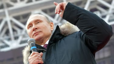 Vladimir Putin is set to be re-elected for a fourth term as president on Sunday