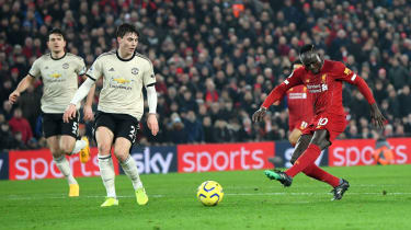 Liverpool beat Man Utd 2-0 in the Premier League clash at Anfield on 19 January 2020