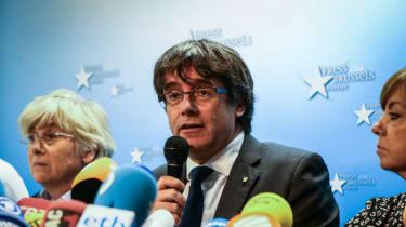 Carles Puigdemont Brussels