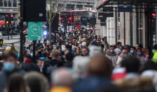London crowds