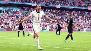 England captain Harry Kane scored against Germany at Wembley