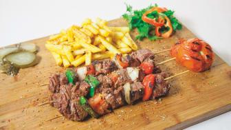 Souvlaki Greek food