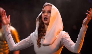 Lily Cole in The Iliad
