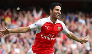 Former Arsenal captain Mikel Arteta has returned to the club as head coach