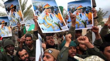 pro gaddafi forces