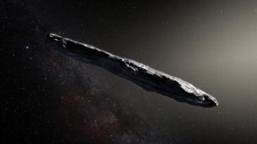 'Oumuamua Asteroid