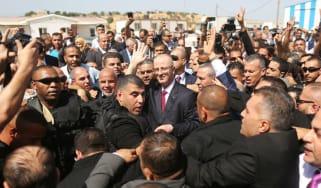 Rami al-Hamdallah enters Gaza
