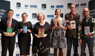The contenders for the 2012 Booker Prize, which was won by Hilary Mantel