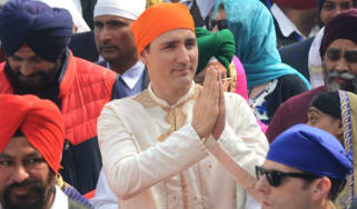 Justin Trudeau in India