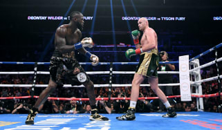The first fight between Deontay Wilder and Tyson Fury ended in a split-decision draw