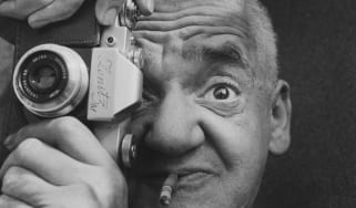 E.2879-1995PhotographPortrait of Weegee Photographic portraits (3) of the photographer Weegee, 20th centuryRichard Sadler (1927-)