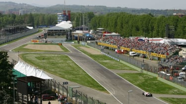 The F1 San Marino Grand Prix was last held at Imola in 2006