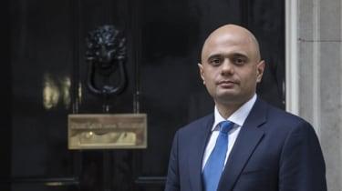 Sajid Javid  at Downing Street
