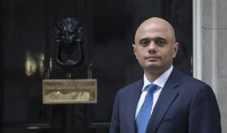 Sajid Javid  at Downing Street