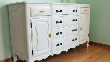 Repainted buffet by Pear Tree Stitching