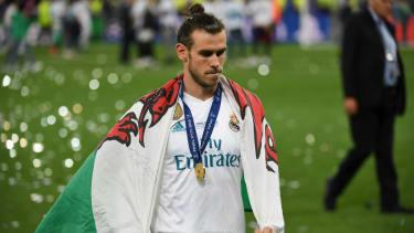 Real Madrid and Wales forward Gareth Bale