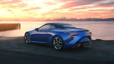 Lexus LC Convertible 2020
