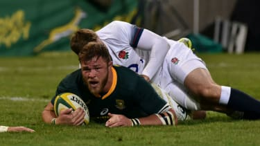 Duane Vermeulen try South Africa 23 England 12 rugby union