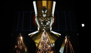 will.i.am's Pyramidi in the Digital Revolution exhibit