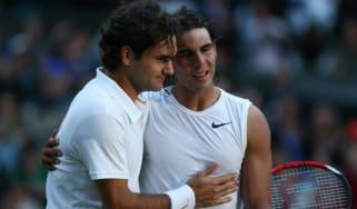 Roger Federer Rafa Nadal 2008 Wimbledon final