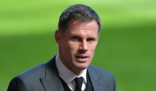 Jamie Carragher spitting