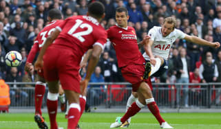 Harry Kane Tottenham vs. Liverpool