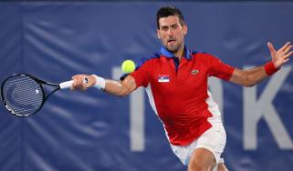 Team Serbia's Novak Djokovic is through to the Tokyo 2020 semi-finals