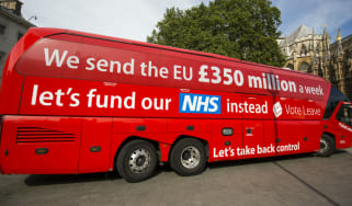 Vote Leave's NHS claim was widely discredited during the referendum