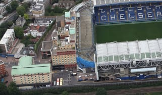 Chelsea FC's Stamford Bridge stadium in west London