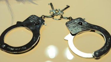 Fifty Shades of Grey handcuffs
