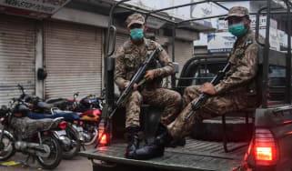 Pakistani troops