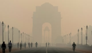 India pollution, Delhi