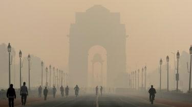 India pollution, Delhi