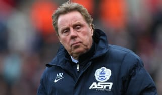 QPR manage Harry Redknapp
