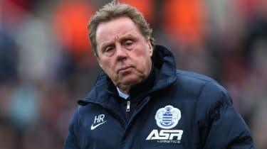 QPR manage Harry Redknapp