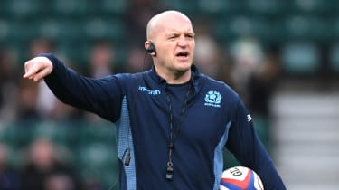 Gregor Townsend is head coach of the Scotland rugby union team