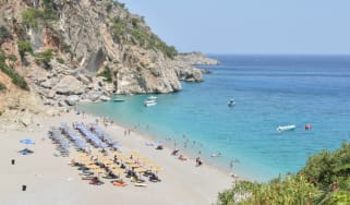 Turkey beach travel