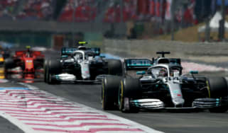 Lewis Hamilton and Valtteri Bottas led Mercedes to a 1-2 at the F1 French Grand Prix
