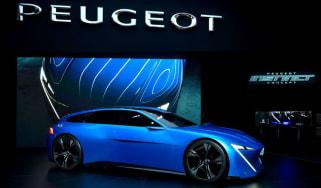 Peugeot Instinct concept at Geneva Motor Show