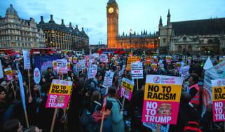 Stop Trump protest UK