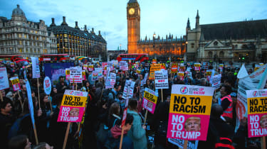 Stop Trump protest UK