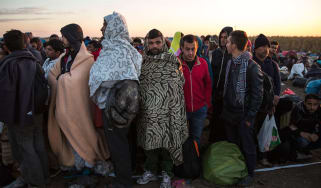 Migrants in Hungary
