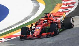 Sebastian Vettel Ferrari F1 Singapore GP
