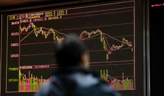 Asian markets have tumbled following announcement of tariffs by US and China